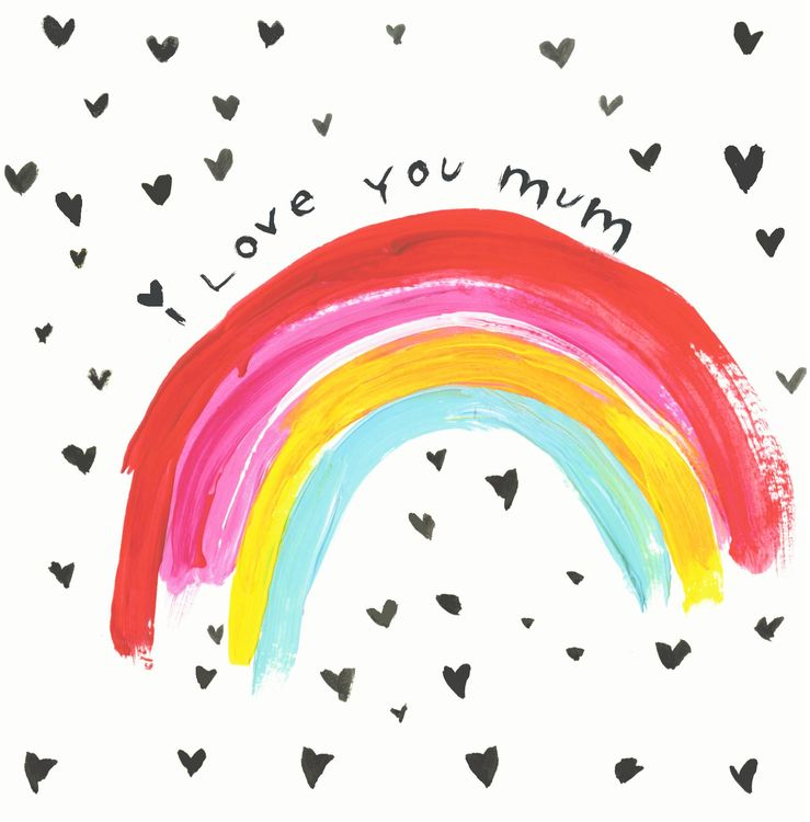 Sooshichacha - Love You Mum Rainbow
