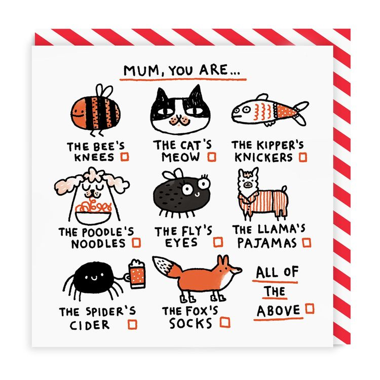 Gemma Correll - Mum you are (the bees knees).