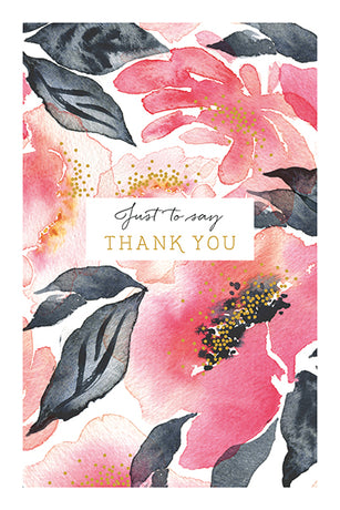 Art File - Watercolour Thank You Notes x 10