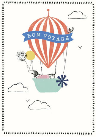 Art File - Bon Voyage Balloon