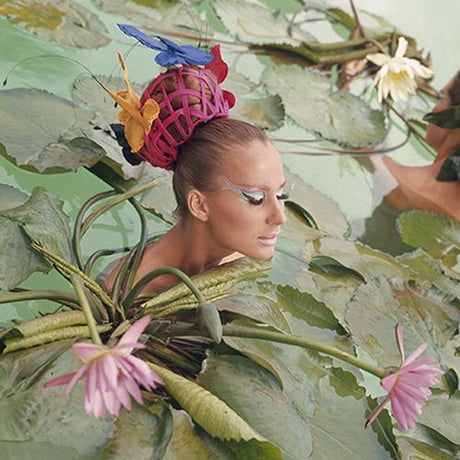 Norman Parkinson - Tahiti Lillies