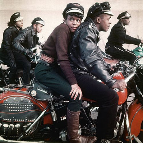 Norman Parkinson - Harlem Motorcycle Gang