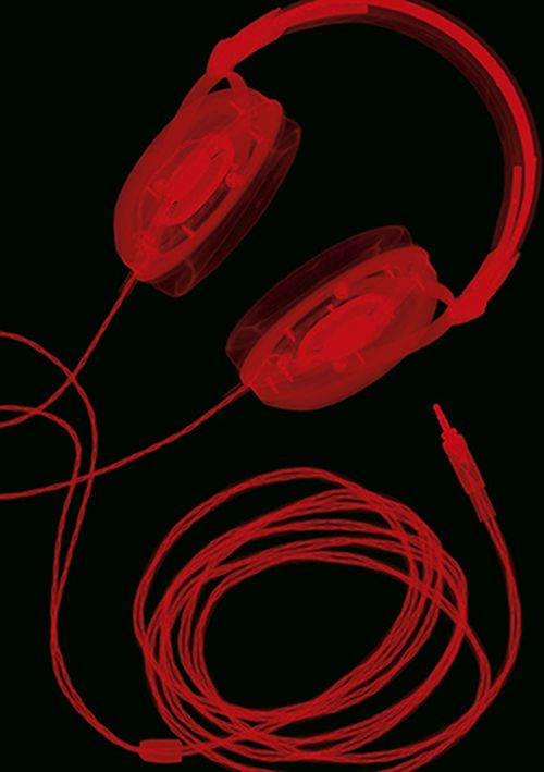 Nick Veasey - Headphones