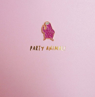 Pinata - Sloth Badge