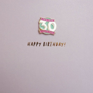 Pinata - 30th Birthday Badge