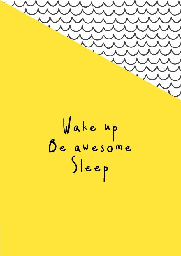 Hidden Gem Design - Wake up be awesome