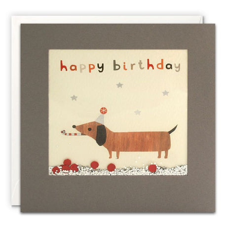 Shakies - Happy Birthday Dachshund