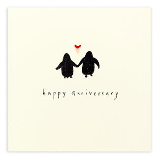 Pencil Shavings - Anniversary Penguins