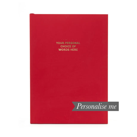 Personalised Notebook - Chilli Pepper