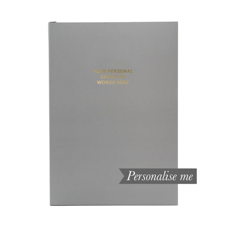 Personalised Notebook - Granite