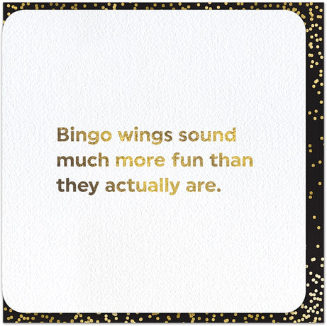 Quotish - Bingo Wings