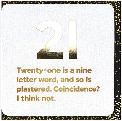 21st - Nine Letter Word