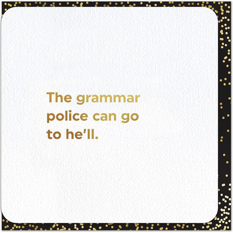 Quotish - Grammer Police