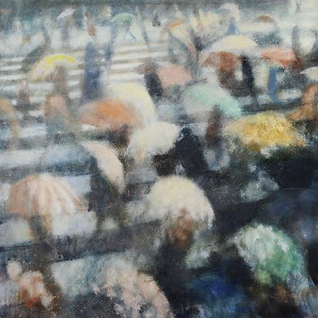 Bill Jacklin - Umbrella Crossing V