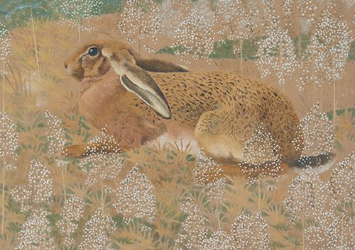 Charles Tunnicliffe - Sitting Hare