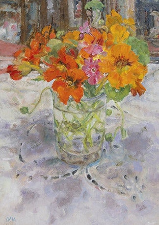Royal Academy - Diana Armfield - Nasturtiums with the last of the Phlox