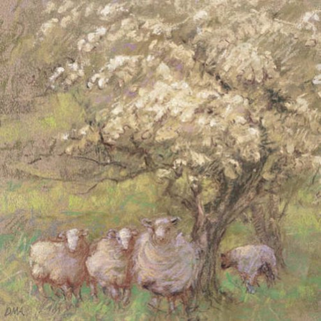 Diana Armfield - Springtime over the Berwyns