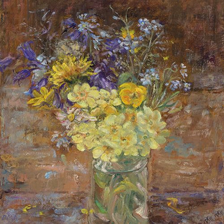 Diana Armfield - Spring Flowers on the Easel Llwynhir