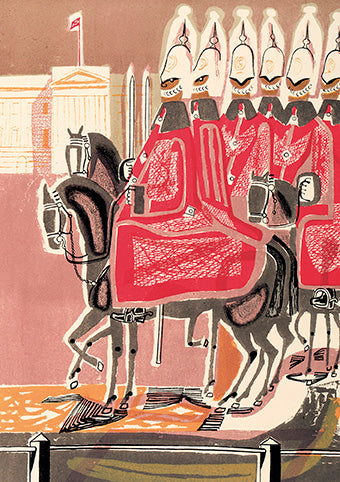 Royal Academy - Edward Bawden - The life guards