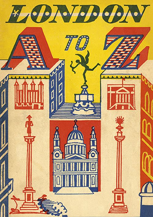 Royal Academy - Edward Bawden - London A-Z
