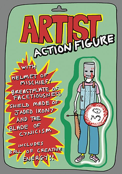 Royal Academy - Grayson Perry - Artist Action Figure