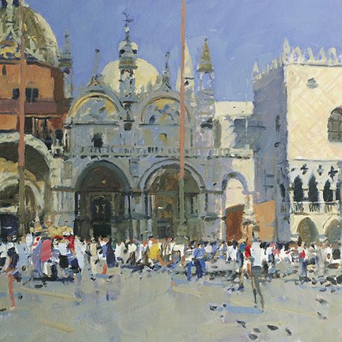 Royal Academy - Ken Howard - Piazza