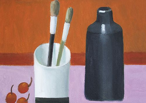 Royal Academy - Mary Fedden - Two Brushes