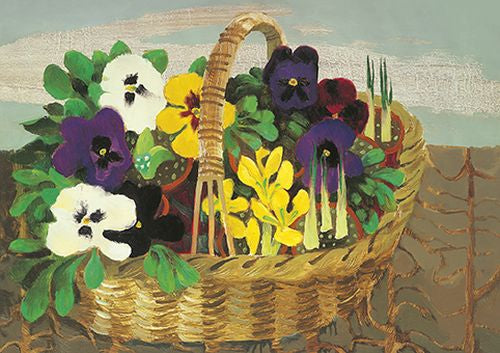 Royal Academy - Mary Fedden - Pansies