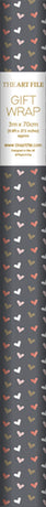 Art File - Hearts and Kisses Roll Wrap 3M (Collection & Local Delivery Only)