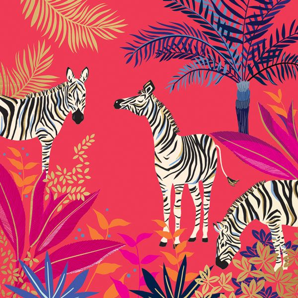 Sara Miller London - Zebras