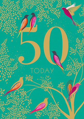 Sara Miller - 50th Green Birds