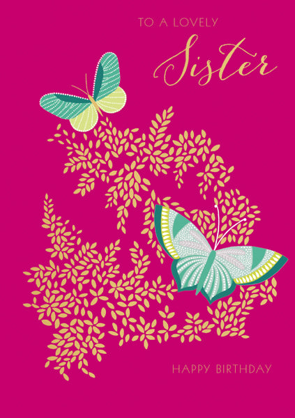 Sara Miller London - Lovely sister butterfly