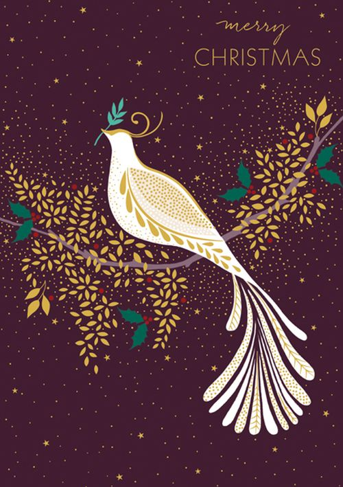 Sara Miller London - Dove On Branch