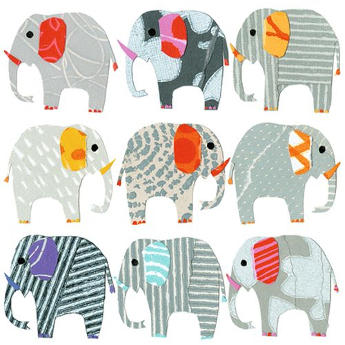 Sarah Battle - Elephants in a row
