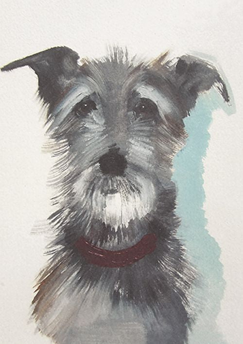 Sally Muir - Hairy Dog