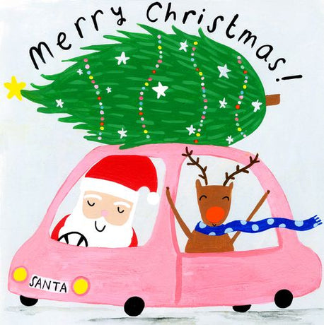 Sooshichacha - Christmas Tree on Pink Car