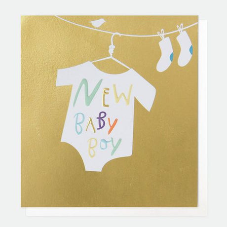 Caroline Gardner - New Baby Boy Gold