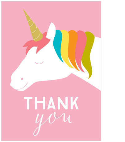 Unicorn thank you x 8