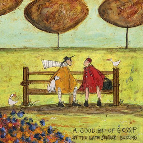 Sam Toft - A good bit of gossip by the late summer bedding
