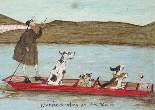 Sam Toft - Woofing along on the river