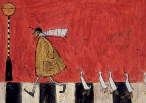 Sam Toft - Crossing with ducks