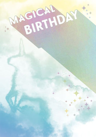 Art File - Magical Birthday Unicorn