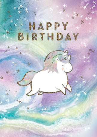 Art File - Birthday Unicorn