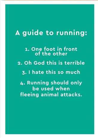 Ohh Deer - Guide To Running
