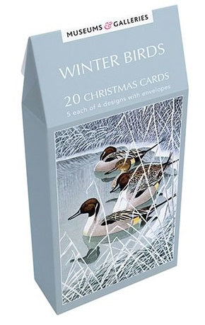 Museums and Galleries - Winter Birds x 20