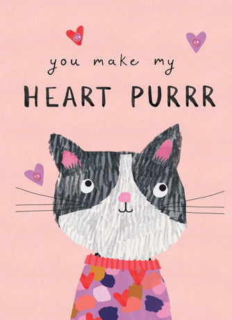 Stop The Clock - Make My Heart Purr Cat