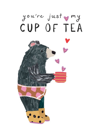 Stop The Clock - Just My Cup Of Tea Bear