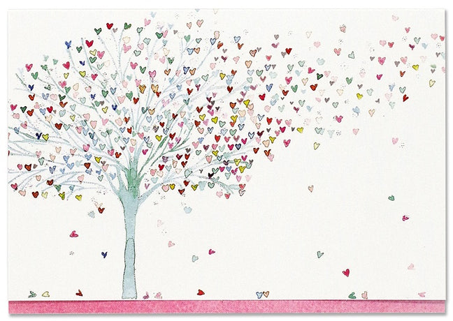 Peter Pauper - Tree of Hearts Notecards x 14