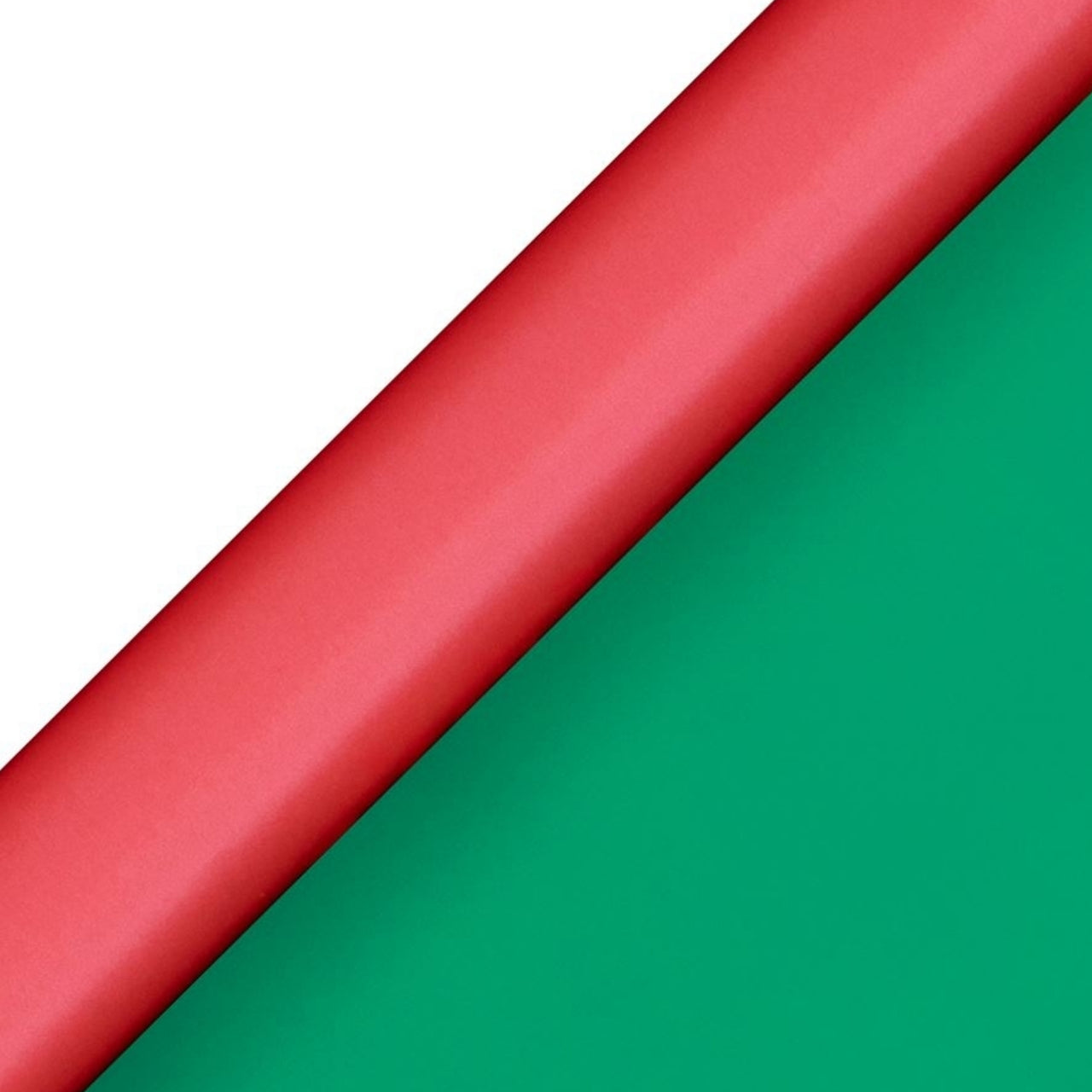 Glick - Pure Zest Roll Wrap 2M - Red/Green (Collection & Delivery)