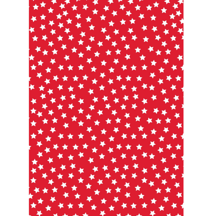 Glick - Doodle Stars Wrap 4M (Collection & Delivery)